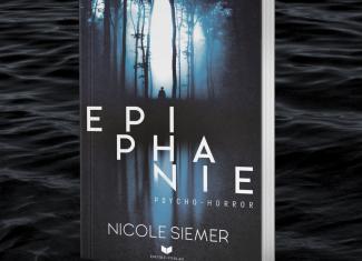 """Taschenbuch Nicole Siemer """"Epiphanie"""" signiert, inklusive Lesezeichen und Postkarte"""