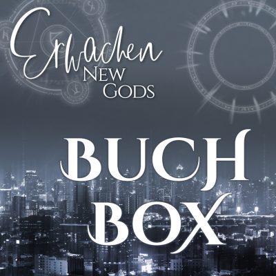 """Buchbox """"New Gods: Erwachen"""" von Melissa Ratsch"""