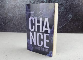 """Taschenbuch Rose Bloom """"Third Chance"""" signiert"""