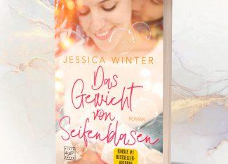 """Taschenbuch Jessica Winter """"Das Gewicht von Seifenblasen"""" signiert"""