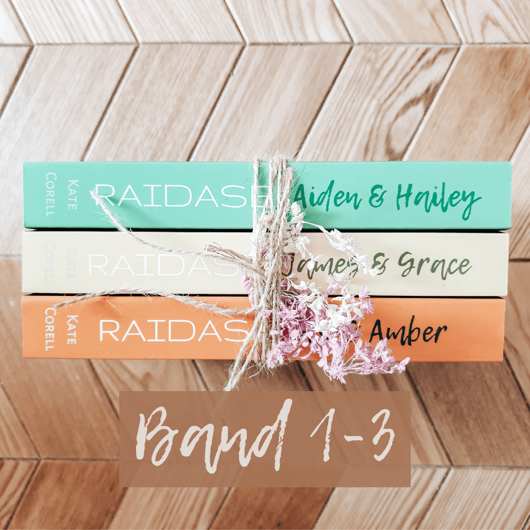 RAIDASE Kate Corell Band 1-3 -signiert-