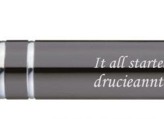 Kugelschreiber (silber) – Drucie Anne Taylor