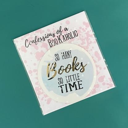 bookaholic sticker
