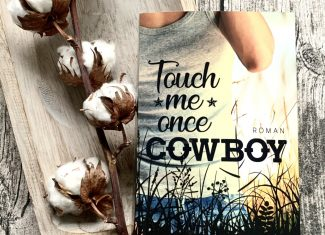 """Taschenbuch Louisa Beele """"Touch me once, Cowboy"""""""