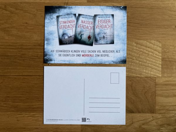 Postkarte Schwabenkrimis Zellner