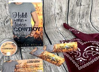 "Buchbox Louisa Beele ""Hold me twice, Cowboy"""