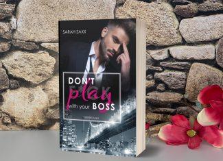 """Taschenbuch """"Don't play with your Boss"""" von Sarah Saxx, signiert"""