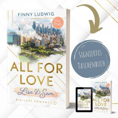 All for Love - Lisa & Sam (Big Lake Romance 1) Finny Ludwig