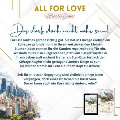 All for Love - Lisa & Sam (Big Lake Romance 1)