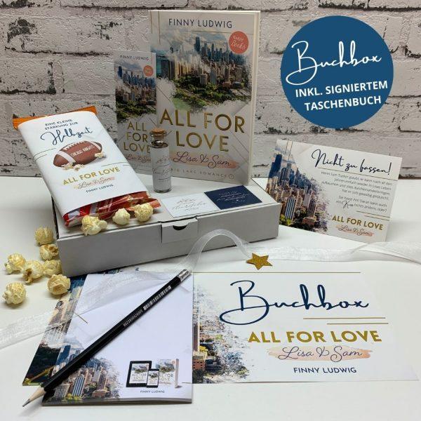 All for Love, Buchbox, Finny Ludwig, Liebesroman
