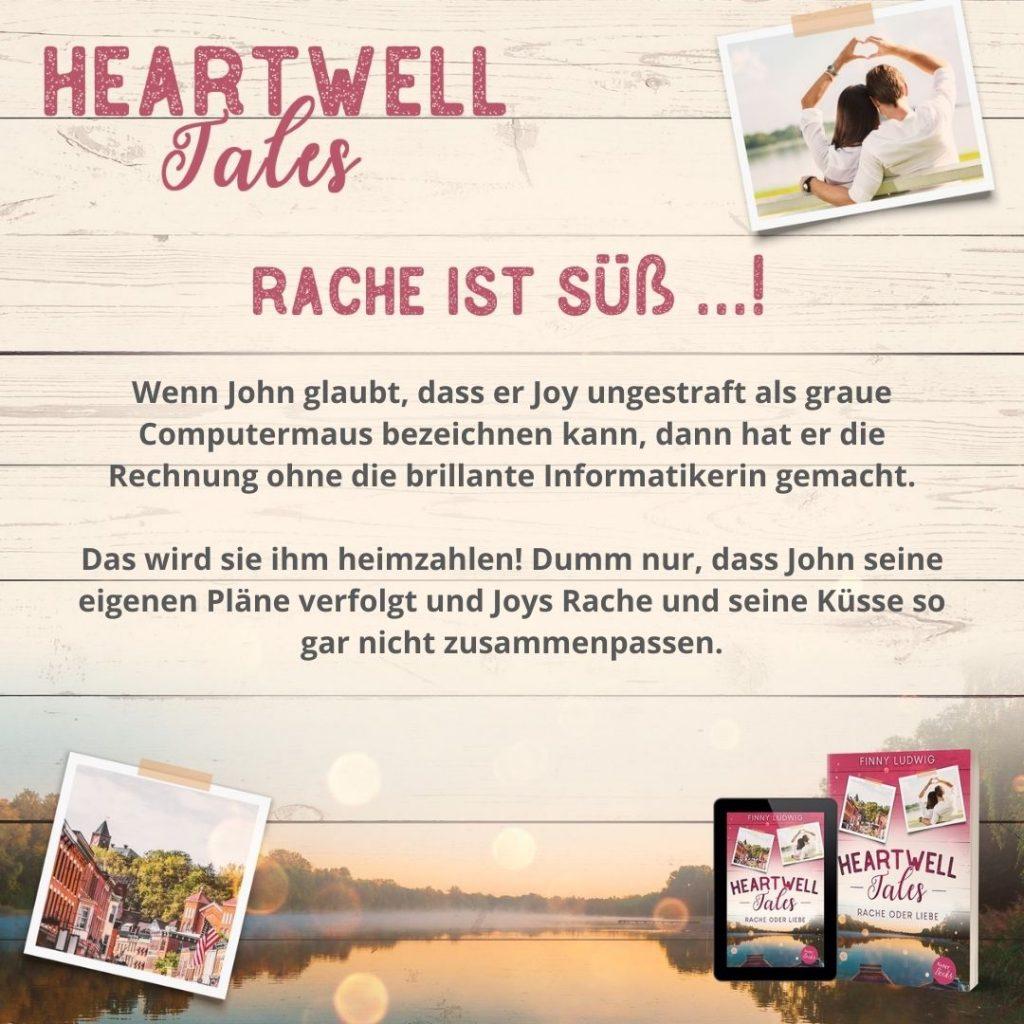 Heartwell Tales - Rache oder Liebe von Finny Ludwig
