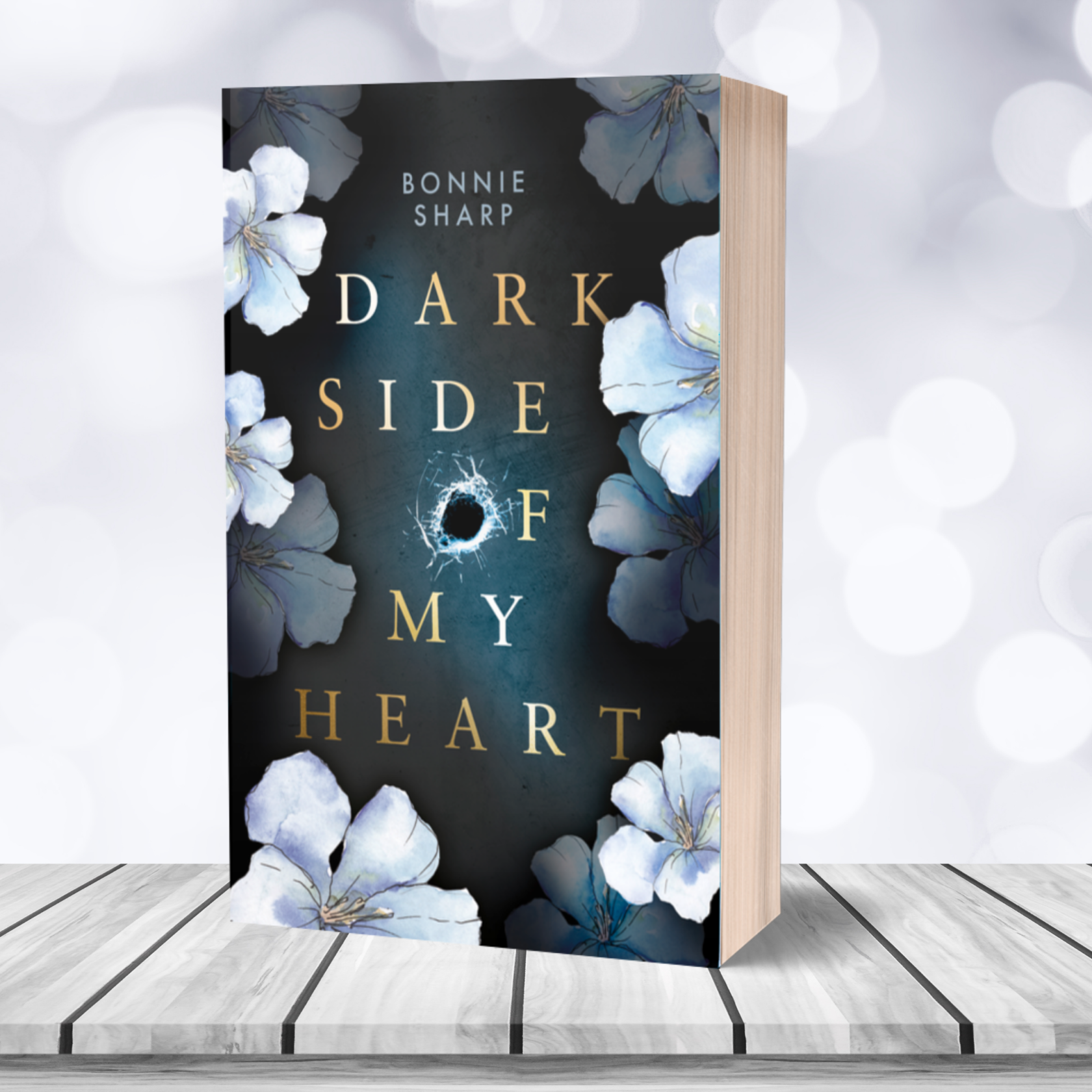 "Taschenbuch Bonnie Sharp ""Dark side of my heart"" – signiert"
