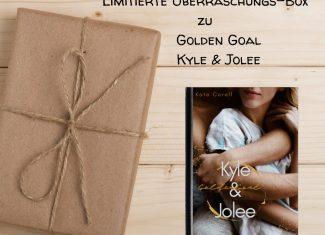 Kate Corell Buchbox Golden Goal Kyle & Jolee limitiert