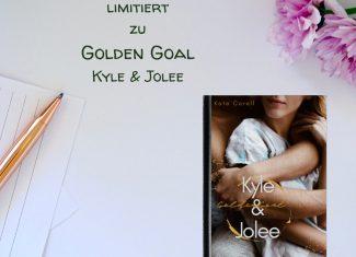 Kate Corell signiertes Taschenbuch Golden Goal Kyle & Jolee limitiert