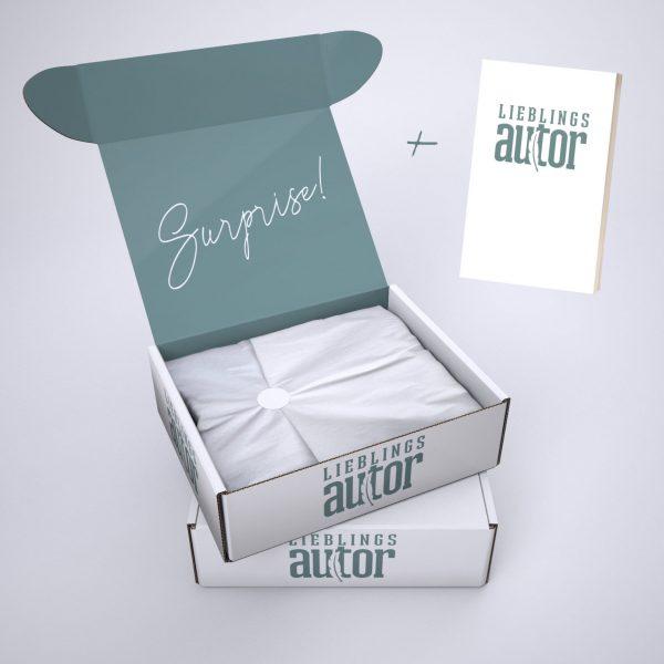 Überraschungsbox Mai Lieblingsautor + Buch