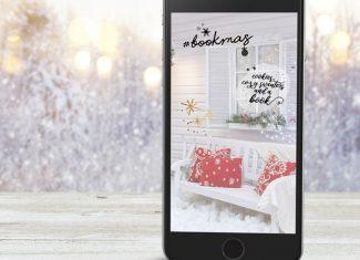 Lieblingsautor Story Sticker #bookstagram Weihnachten