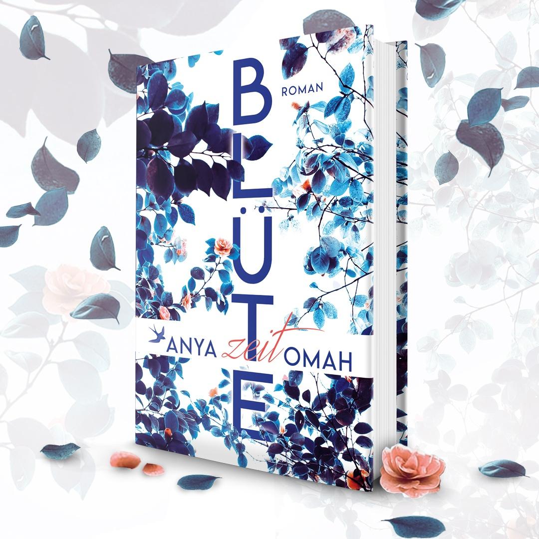 "Hardcover Anya Omah ""Blütezeit"""