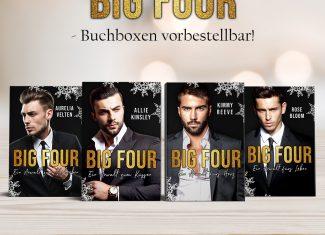 """Buchbox """"Big Four"""" – Allie Kinsley, Kimmy Reeve, Aurelia Velten, Rose Bloom"""