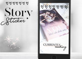 Lieblingsautor Story Sticker für Blogger/Leser