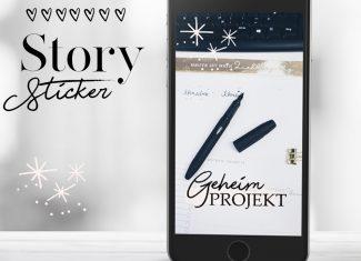Lieblingsautor Story Sticker für Autoren