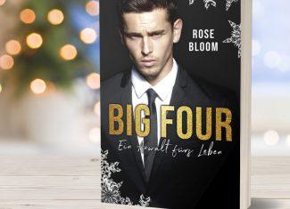 """Taschenbuch """"BIG FOUR – Ein Anwalt fürs Leben"""" von Rose Bloom signiert"""