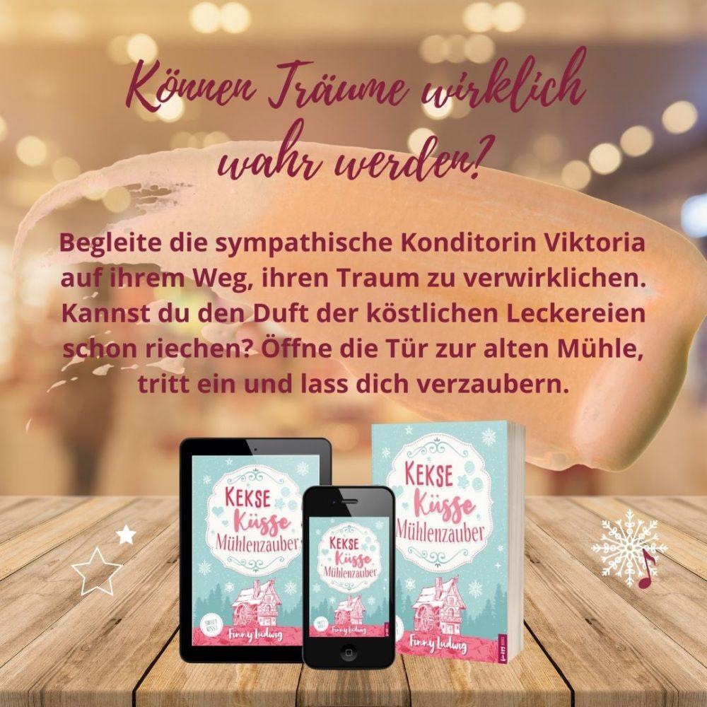 Kekse Küsse Mühlenzauber von Finny Ludwig